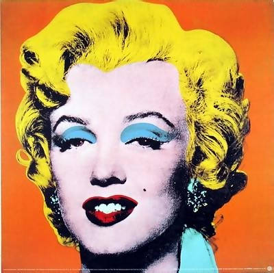 ANDY WARHOL RARE OFFICIAL AUTHORIZED MARILYN MONROE